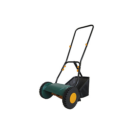 B&Q Hand Push Cylinder Lawnmower homepage image B&Q