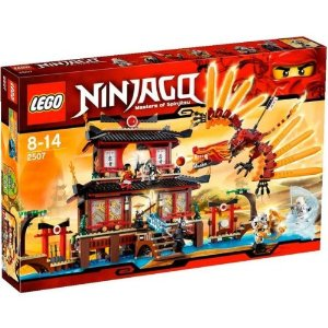 Lego - 2507 Ninjago Fire Templereview image