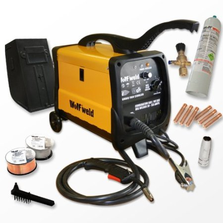 Wolf MIG 140 Combination Gas/No Gas Mig Welder and Kitreview image